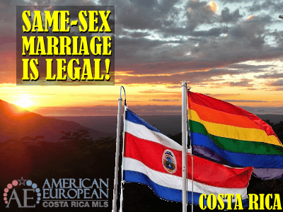 Same-Sex Marriage in Costa Rica is legal now