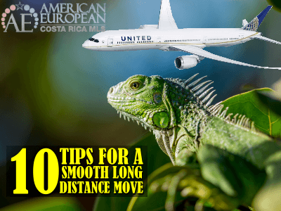 10 Tips to Make a Smooth Long-Distance Move to Costa Rica