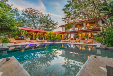 Nosara 8 BR Retreat or Luxury Hilltop Ocean View Home
