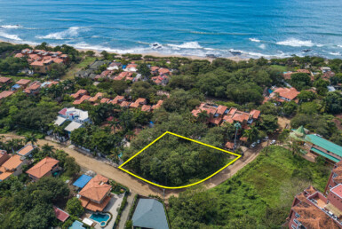 Two Adjacent Playa Langosta Building Lots in high-end area