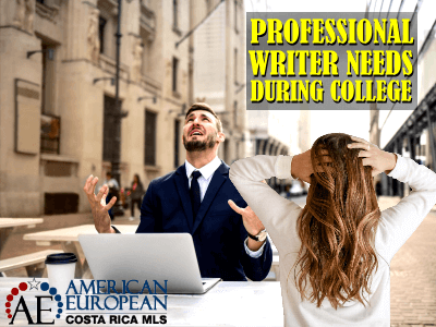 Why do students regularly need a professional writer