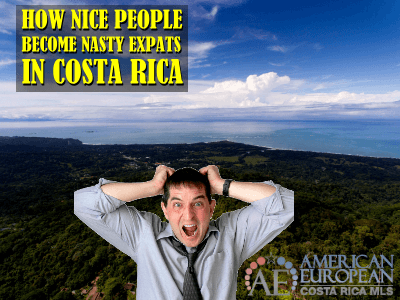 How do Nice people become a Nasty Expat