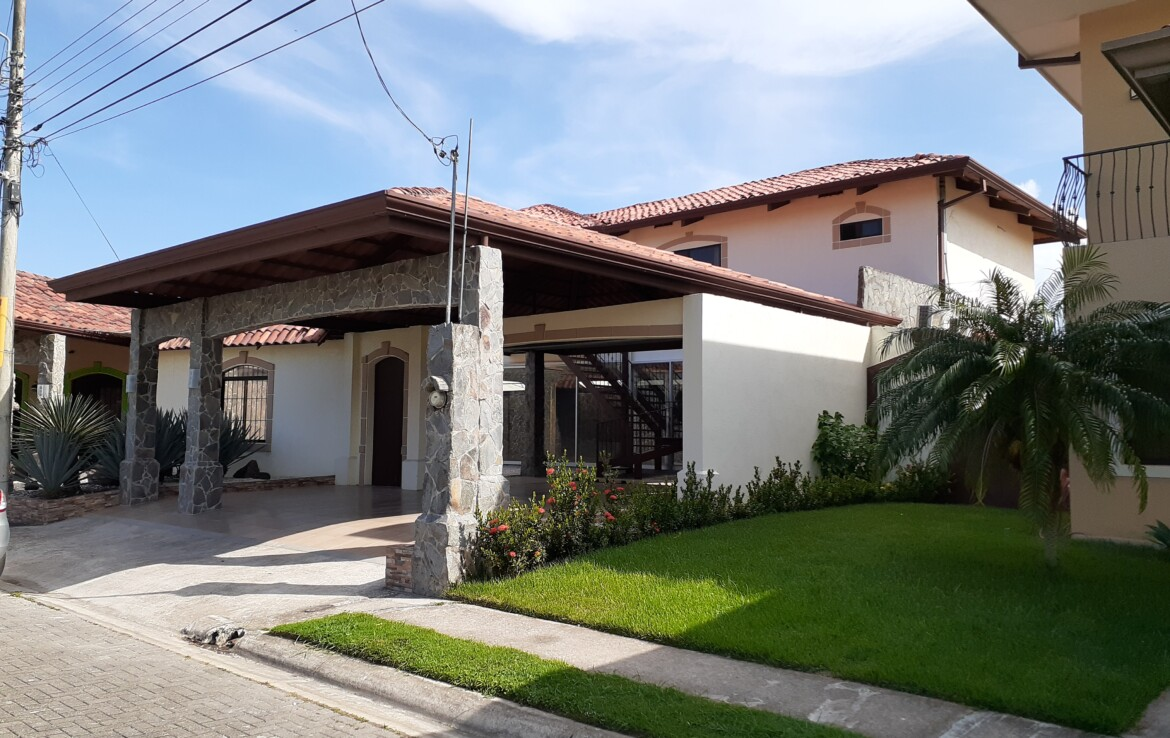 Liberia 3 BR Home in Gated Community with large recreational area