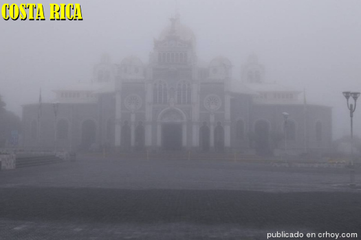 Cartago is known as the city of the fog
