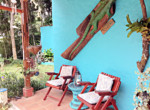 Colorful Atenas 3BR Spanish Hacienda Style Home with Guest House-16