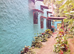 Colorful Atenas 3BR Spanish Hacienda Style Home with Guest House-18