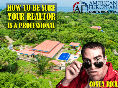 How do I know my real estate agent is a professional?