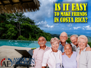 How easy is it to make friends in Costa Rica?